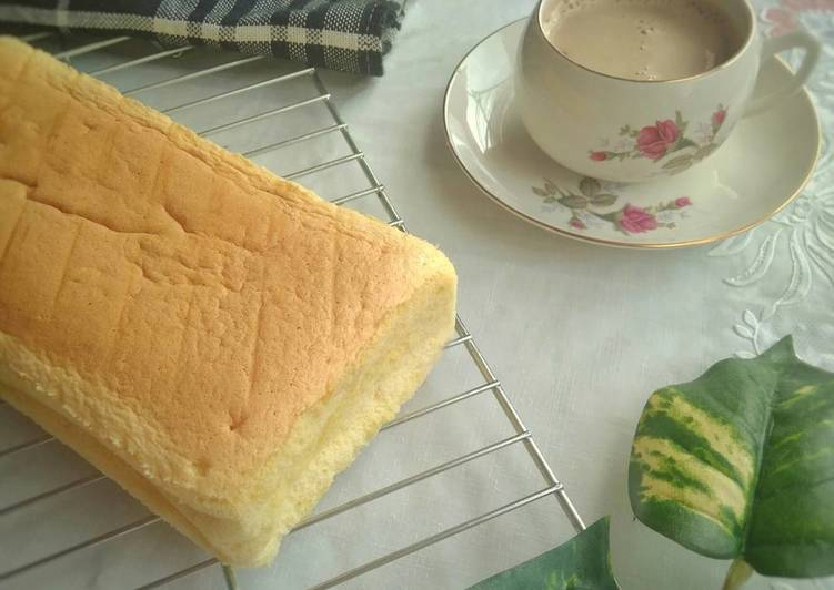 Condensed Milk Cotton Cake