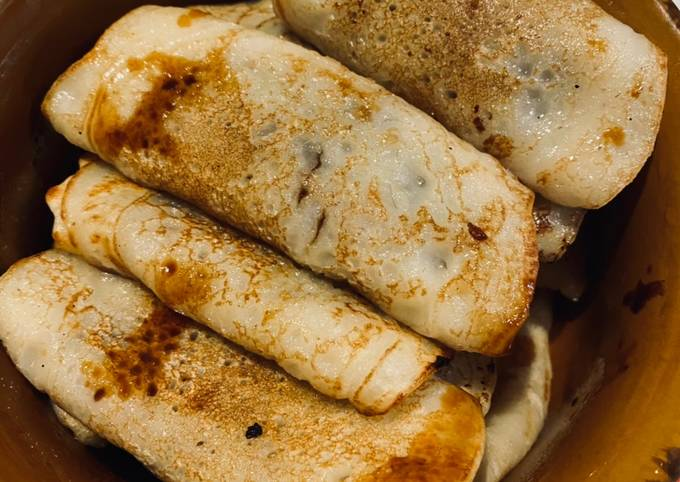 Sweet jaggery crepes