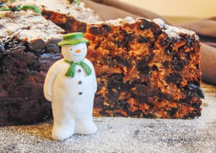 15 Minute How to Prepare Summer Christmas Cake (no added sugar)
