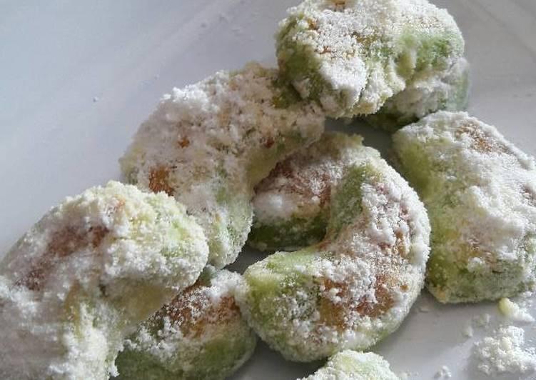 Cookies Putri salju pandan