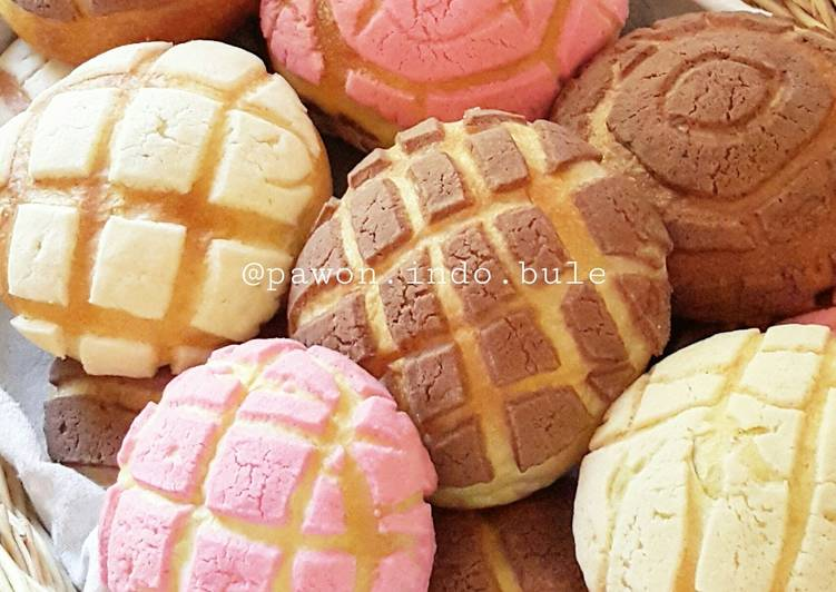 Conchas/Mexican Sweet Bread