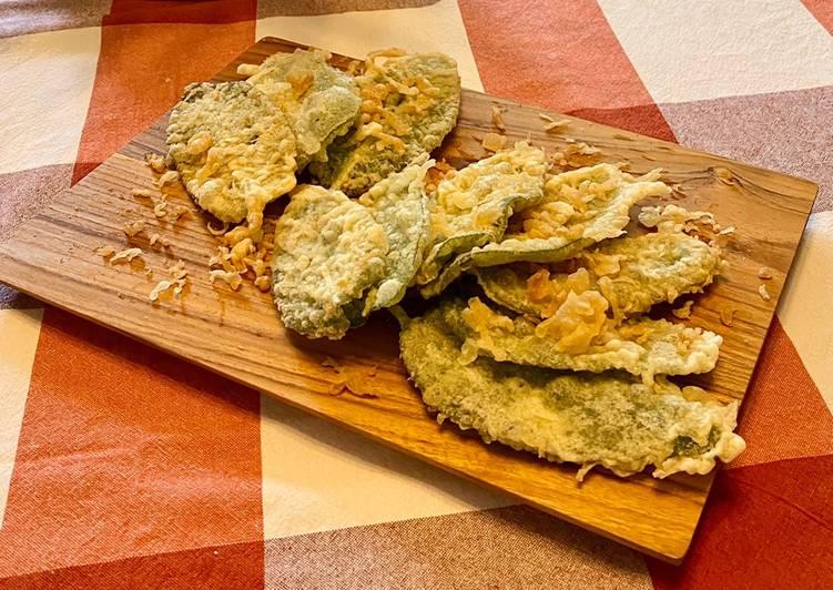 Ricetta Salvia fritta in Tempura