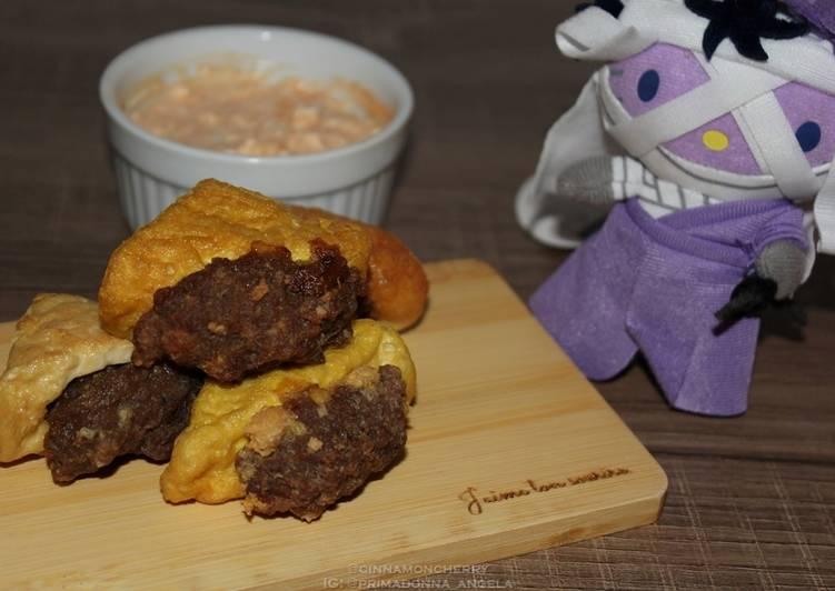 Tahu Bakso (Tofu and Meatballs)