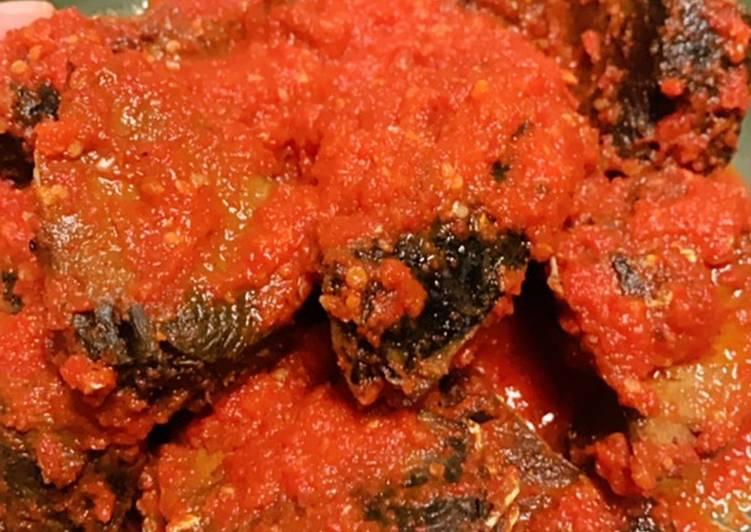Tongkol Balado (sambel ikan tongkol)