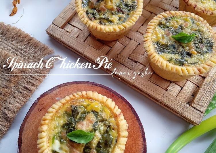 Spinach Chicken Pie