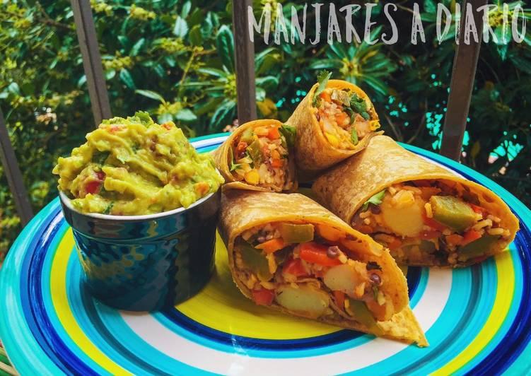 Easiest Way to Cook Appetizing Burrito Matahambre!!! (Vegan)