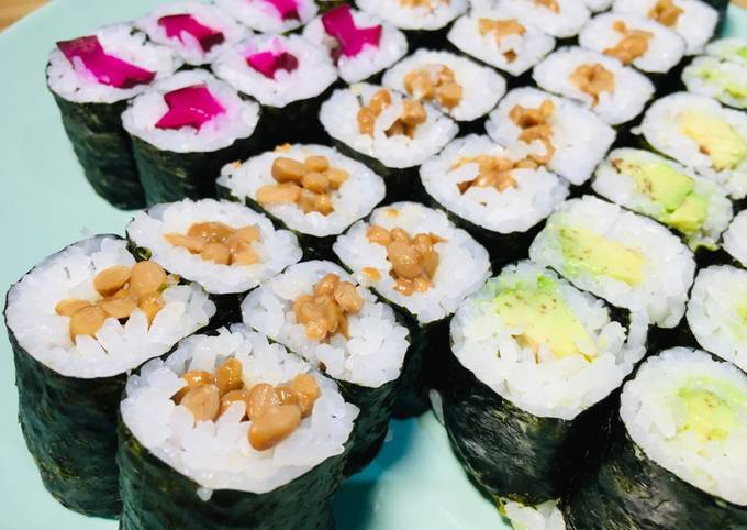 How to roll the Natto Roll Smelly? Delicious?
