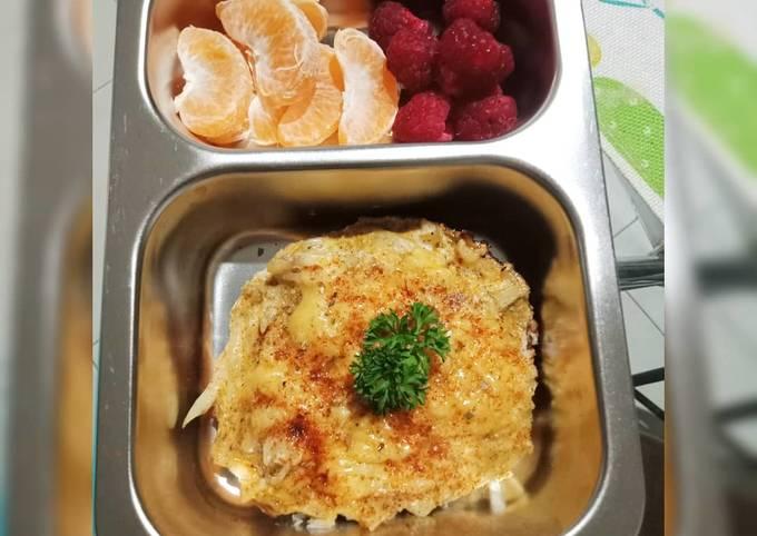 Ide Bekal Sehat gluten free: telur dadar kentang