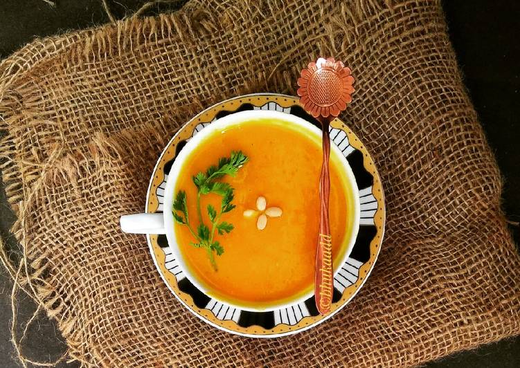 Vegetable mixed dal soup