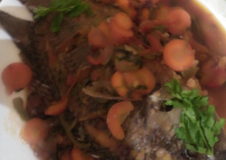 Easiest Way to Prepare Ultimate Wet fry fish curry