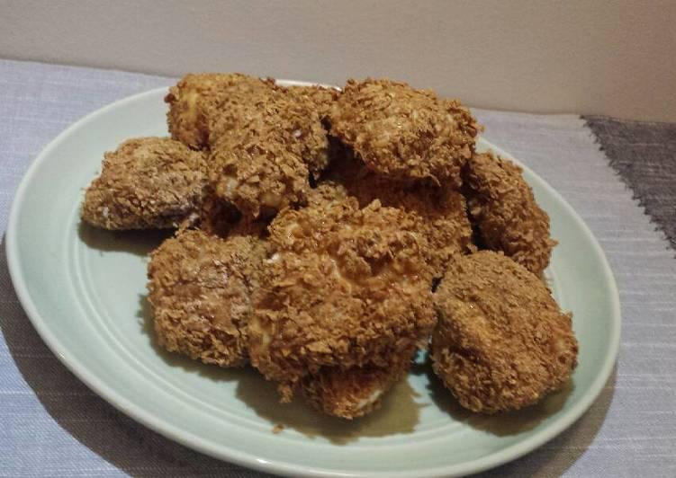Cornflake Chicken Nugget