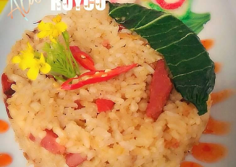 NASI GORENG DAGING PEDAS ala ROYCO