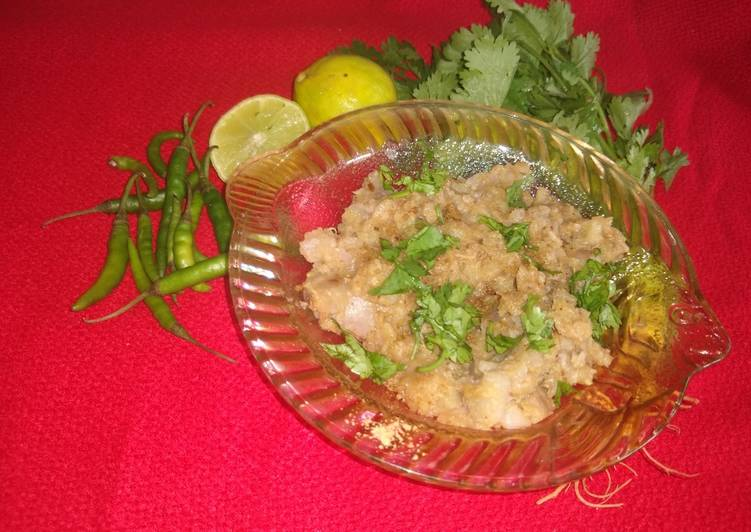 Recipe of Perfect Singhara chat