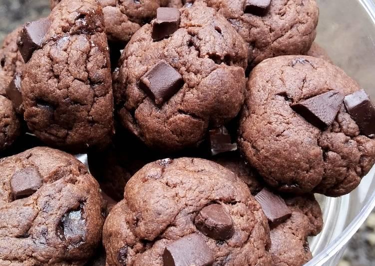 Resep Soft Choco Cookies yang Lezat