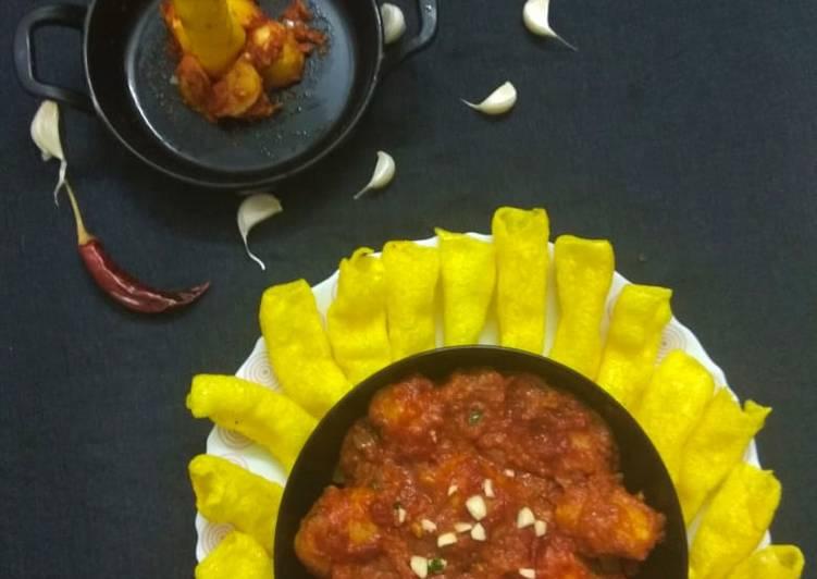 Easiest Way to Prepare Favorite Bhangda Lasaniya Batata