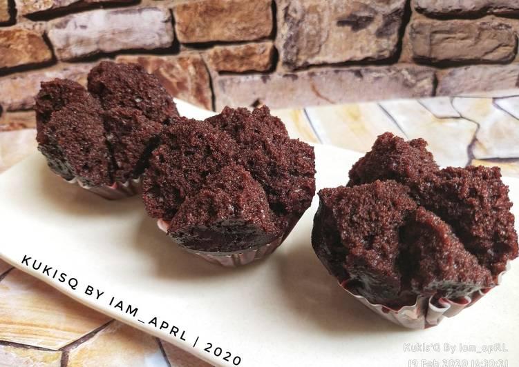 10* Bolu Kukus Mekar Cokelat (No Mixer & Eggless)