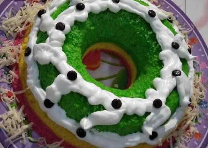 Resep Bolu Kukus Rainbow 🌈, Sempurna