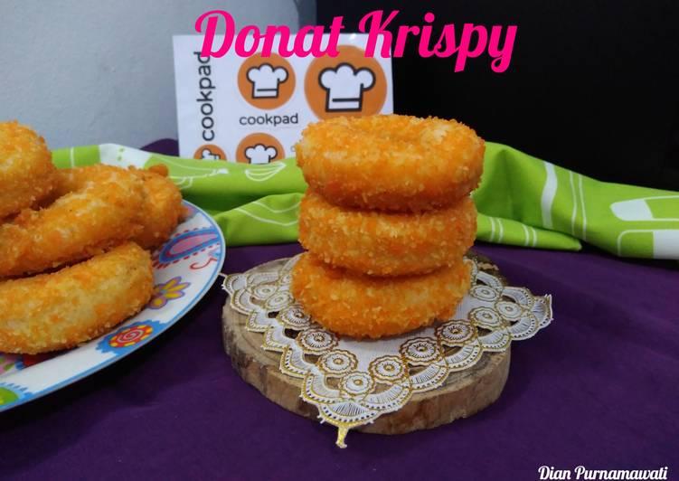 Resep Donat Krispy Anti Gagal