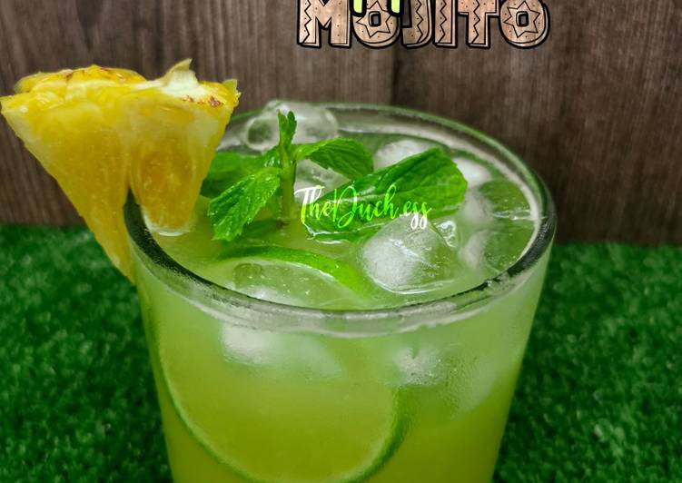 Virgin Pineapple Mojito - resepipouler.com