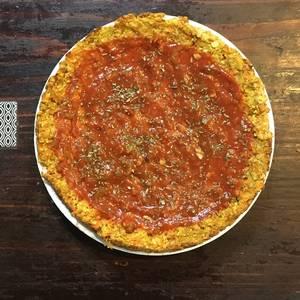 Pizza con base de zanahoria ?| Recetas saludables |?Pizza sin gluten