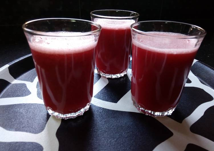 Step-by-Step Guide to Prepare Homemade Mixed Fruit Juice#15minsorlesscookingrecipecontest