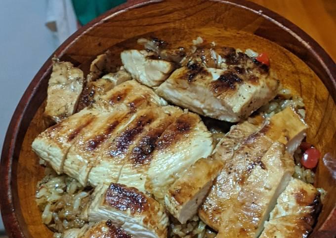 Balsomic Marinated Grill Chicken