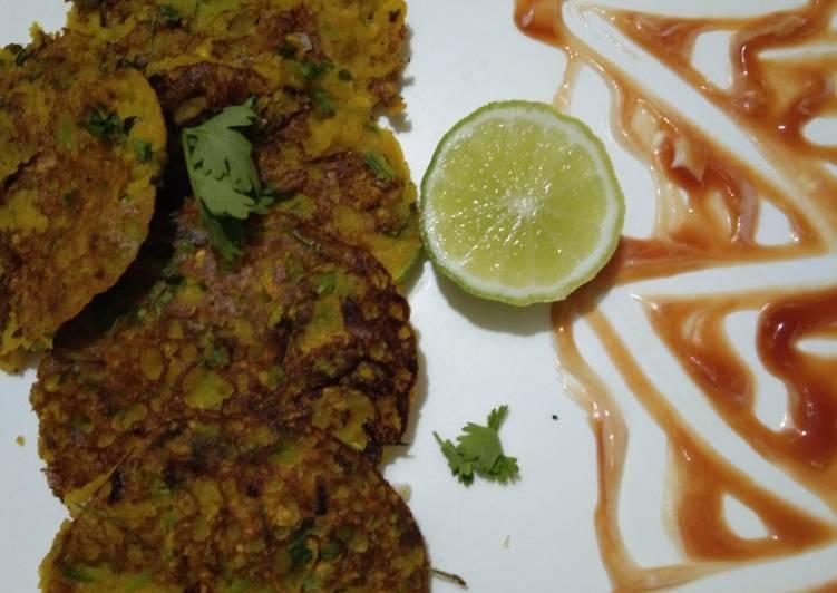 Recipe of Ultimate Sattu methi pancake