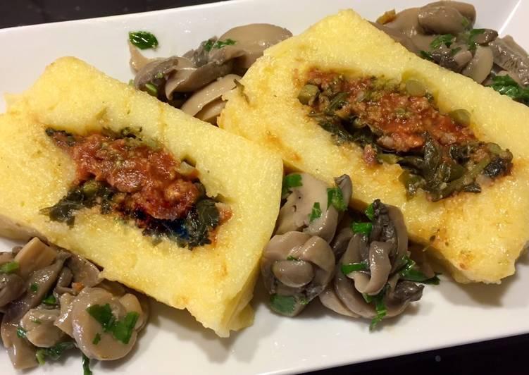 Recipe: Tasty Tronchetto di polenta con sorpresa