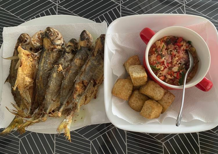 Simple Way to Prepare Favorite Fried Fish and Fried Tofu