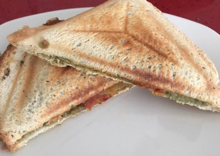 Recipe of Any-night-of-the-week Bombay Masala Sandwich