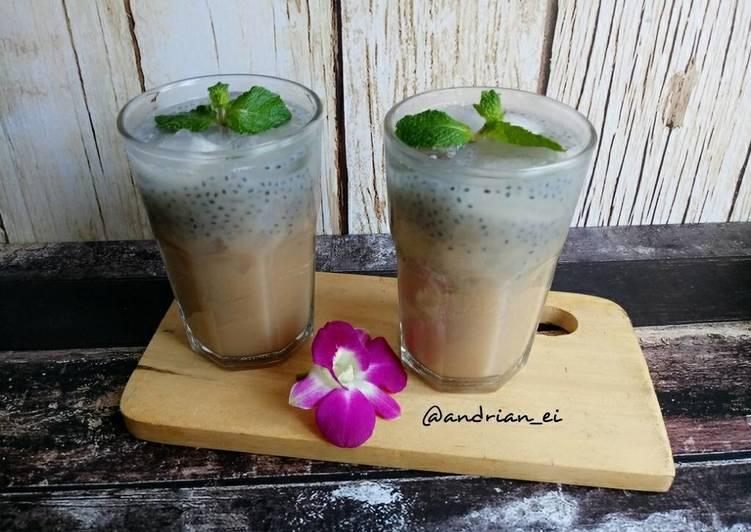 Lychee Milk Tea