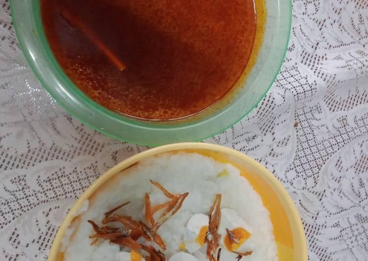 Moi tomyam @ bubur nasi kuah tomyam - resepipouler.com