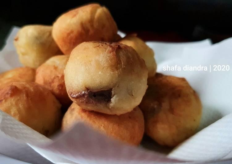 Tape Goreng Coklat Lumer #snack 🇮🇩