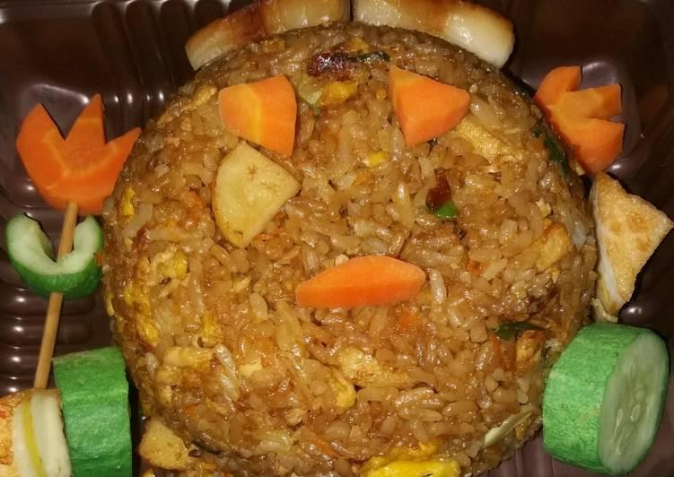 Resep Nasi goreng menu anak Paling Joss