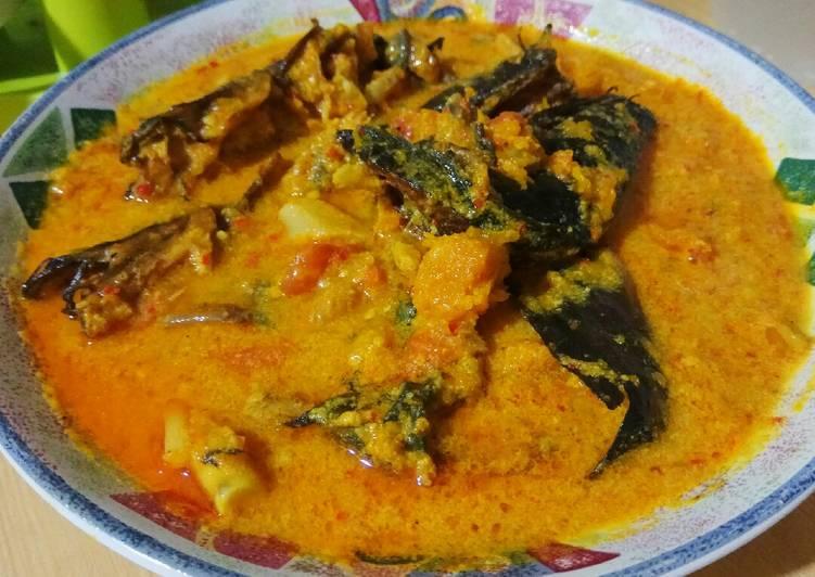 Gulai Ikan Asap Labu Kuning