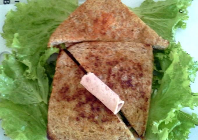 Tuna Chicken Whole Wheat Sandwich