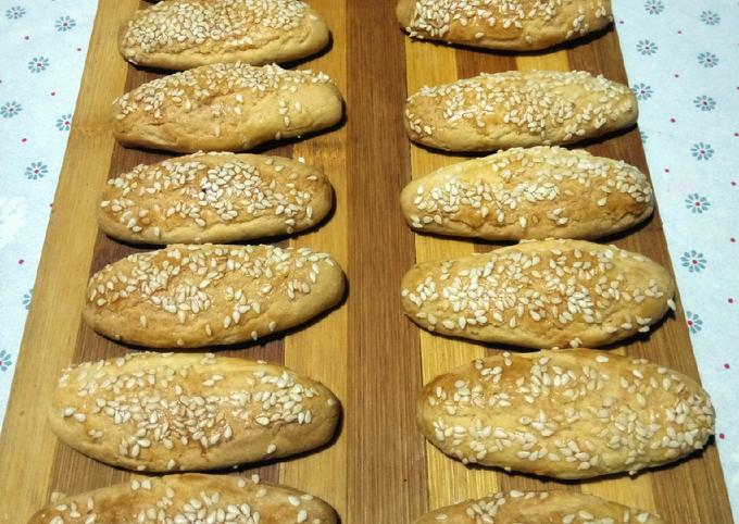 Biscuits aux sésames ❤