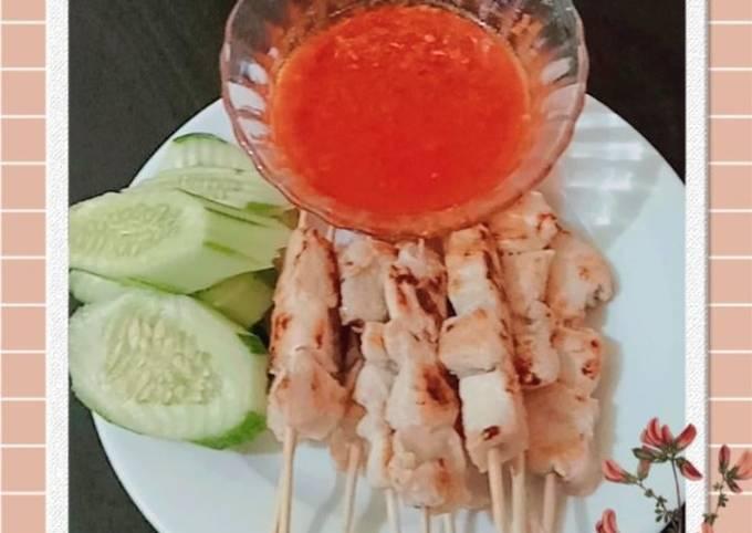 Resep Sate taichan teflon Anti Gagal