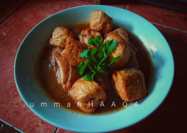 Malbi Ayam Tahu