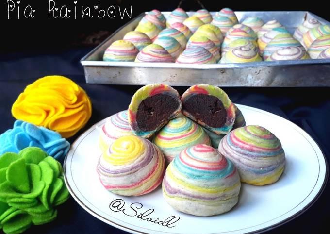 Bakpia Rainbow/ Pia Seribu Lapis / Pia Coklat / Pia Renyah