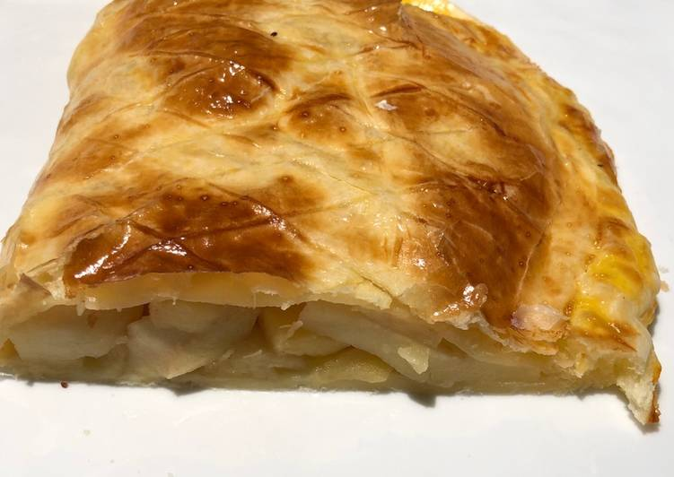 recette Chausson aux pommes géant Le plus simple