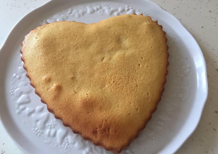 Cake aux citrons et crème fraîche