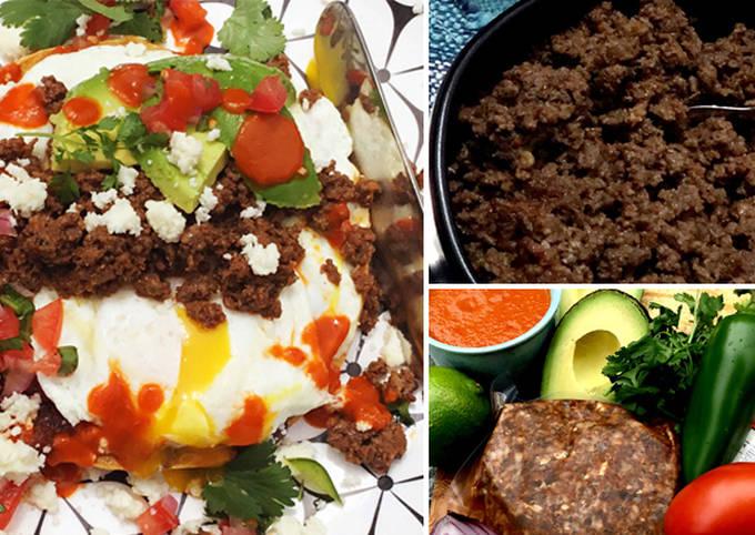 Huevos Rancheros with Wagyu Beef Chorizo