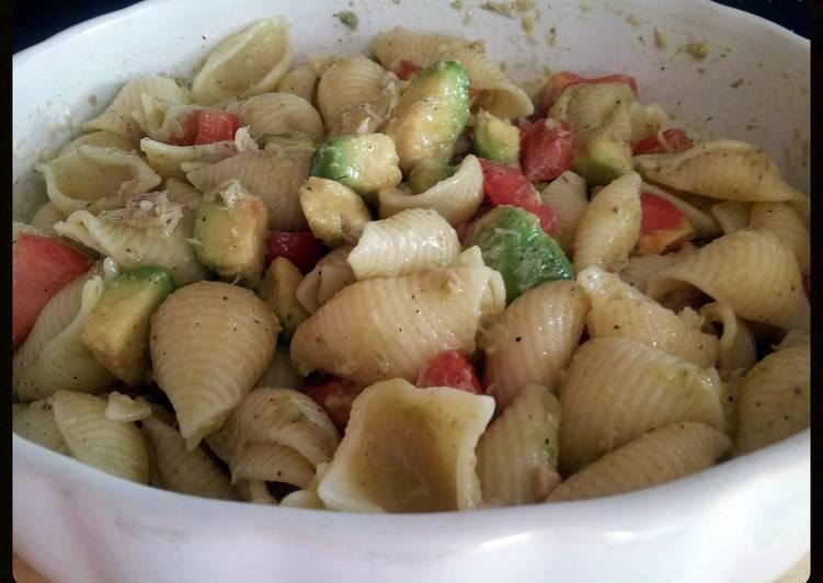How to Prepare Homemade AMIEs PASTA with AVOCADO & TUNA