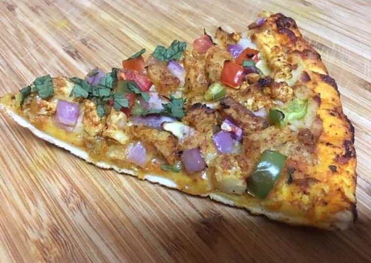 Potato Onion Pizza (10 Minute Pizza)