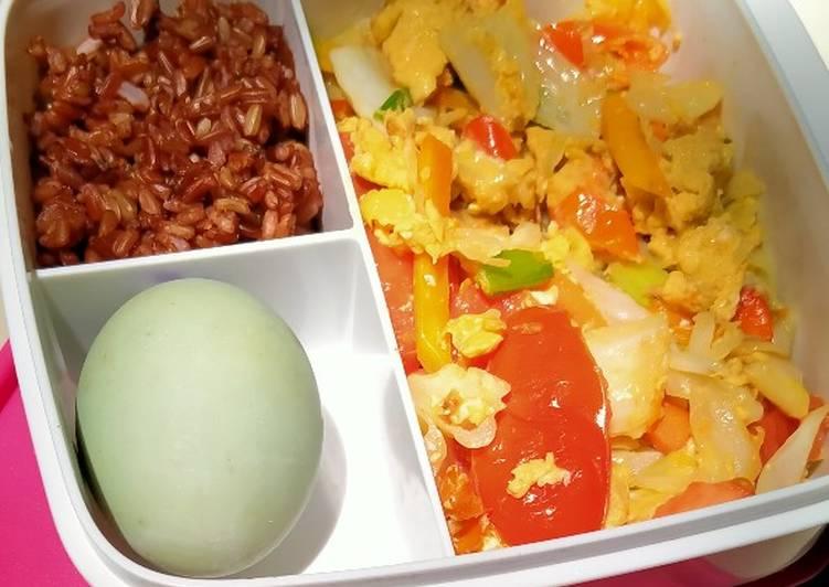Telur sayur orak arik