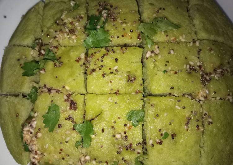 How to Prepare Ultimate Hari matar dhokla