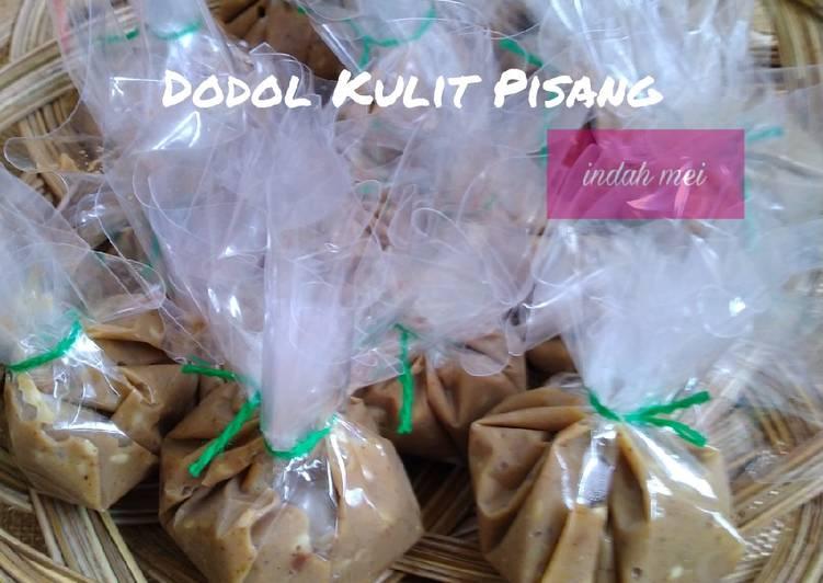 Resep Dodol Kulit Pisang Oleh Indah Mei Izy Cookpad