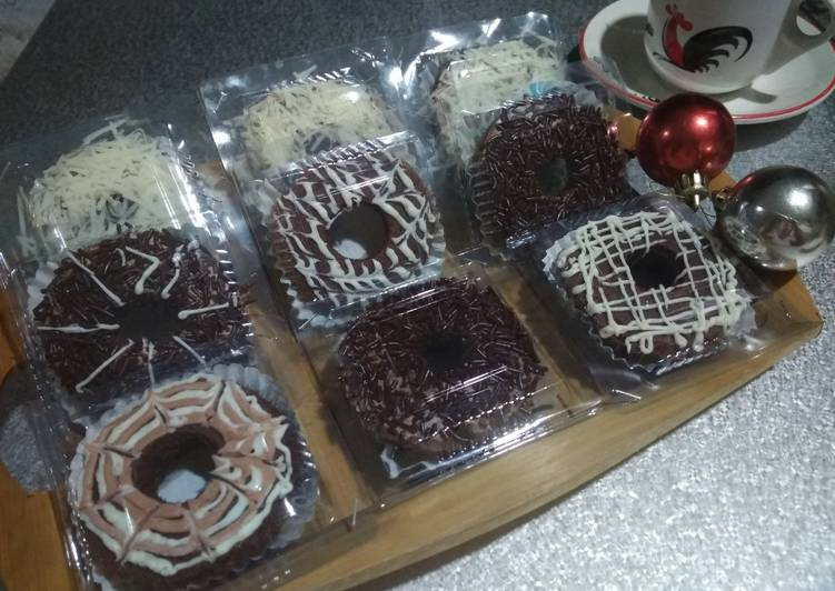 Cara Gampang Menyiapkan Brownies Donat Lembut Anti Gagal