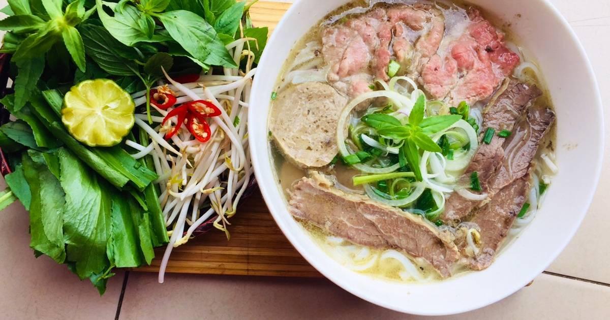 Cách Làm Món Phở Bò Việt Nam của Phuong Nguyen 92 - Cookpad